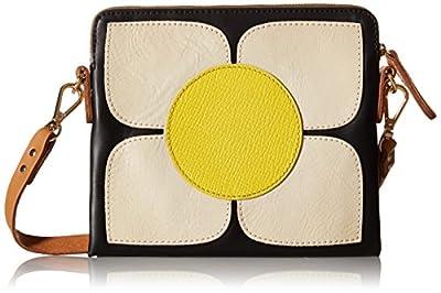 Orla Kiely Square Flower Applique Square Poppy Shoulder Bag from Orla Kiely