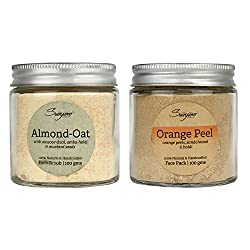 Almond Scrub Orange Peel Pack