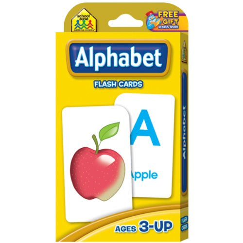 Flash Cards-Alphabet 52/Pkg - 1