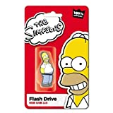 The Simpsons Homer 8GB USB 2.0 Quality Rubber Cartoon USB 8Gig Flash Drive