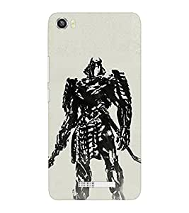 EPICCASE Wolverino ninja Mobile Back Case Cover For Lava Iris X8 (Designer Case)
