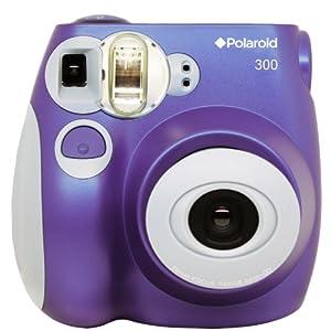 Polaroid 300 Instant Camera PIC-300P Purple