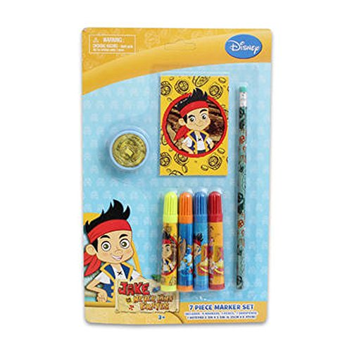 Jake and the Never Land Pirates 7 Piece marker Set