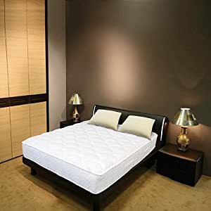 Night Therapy 13-Inch Euro Top Spring Mattress & Bed Frame Set - Queen