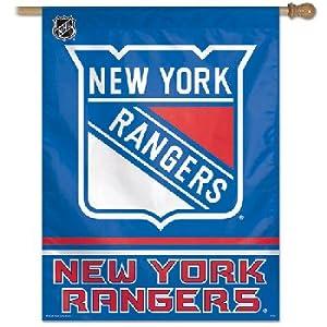 Vertical Flag New York Rangers 27 X 37 Vertical Flag National Hockey League Hokey Nhl... by fannsporan