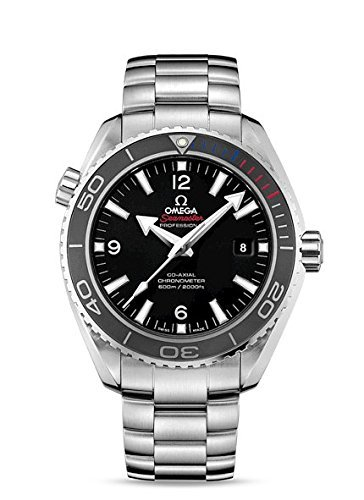 Omega Planet Ocean Black Dial Stainless Steel Mens Watch 522.30.46.21.01.001 (Omega Seamaster Deville compare prices)