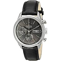 Bulova Men's Accu Swiss Automatic Leather Watch (63C115)