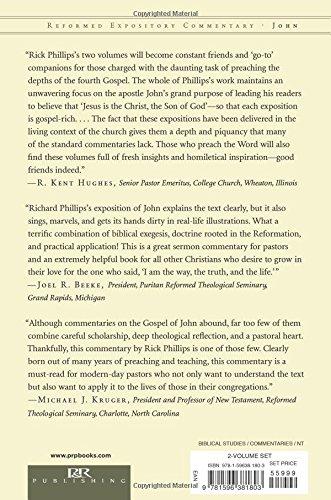 John Set: Reformed Expository Commentary