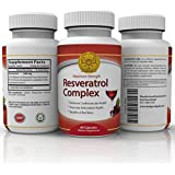 Trans Resveratrol Max Strength 250mg High Potency Antioxidant Supplement | Grape Seed and Red Wine Polyphenols Extract | Anti Aging | Best Supplements | Look Younger - Feel Better | 60 Softgels | 1 to 2 Months supply - 2 a day for 500mg max strength.