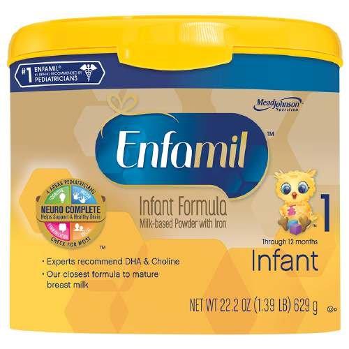 Enfamil Premium Infant Powder Formula 1, Powder, 0-12 Months 22.2 Oz