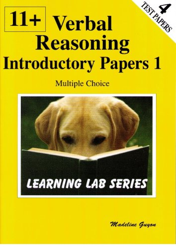 11+ Introductory Practice Papers: Bk. 1: Verbal Reasoning Multiple Choice