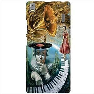 Lenovo K3 Note PA1F0001IN Back Cover - Creative Music Designer Cases