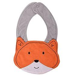 Baby Bucket Orange color cat face baby bibs