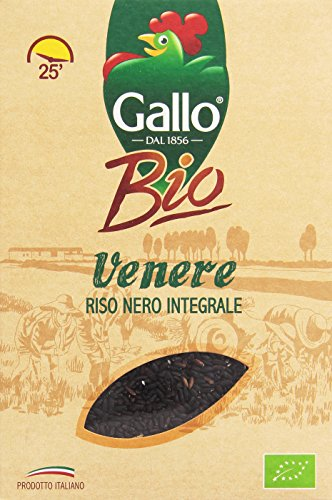 Gallo - Riso Nero Integrale, Venere, Biologico - 500 G