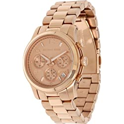 Đồng Hồ Nữ Michael Kors Rose Gold Runway Watch - Women's Watch MK5128