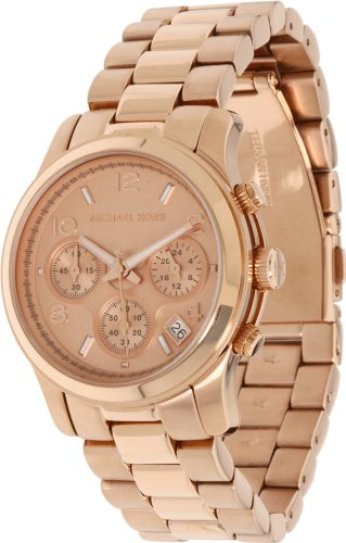 Michael Kors Rose Gold Runway Watch - Women's
