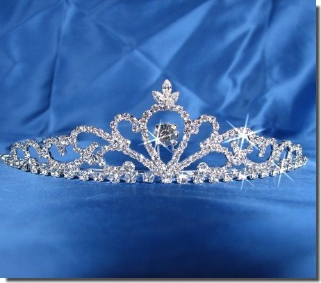 Bridal Wedding Tiara Crown 25306