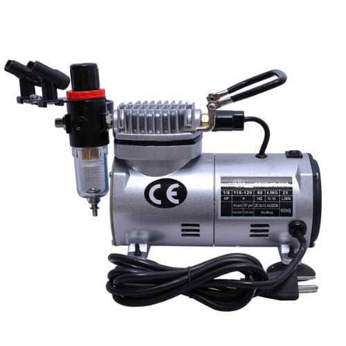 Durable Single Cylinder Piston Compressor with Water Release Valve