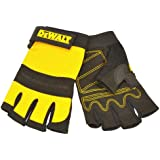 DeWalt PERFORM4 1/2 Synthetic Padded Leather Palm Gloves , size 10