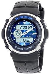 Casio Men's G300-2AV G-Shock Ana-Digi Shock Resistant Street Rider Sports Watch