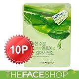 [ザフェイスショップ /The Face Shop] 正規品アロエ シートマスク 10枚[HONEST SKIN 海外直送品]