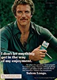 Tom Selleck ad original clipping magazine photo 1pg 8x10 #Q8419