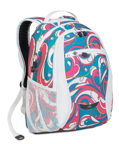 High Sierra Backpack White Swirl