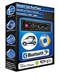 Smart Car Passion car radio Alpine UTE-72BT Bluetooth Handsfree Mechless Stereo