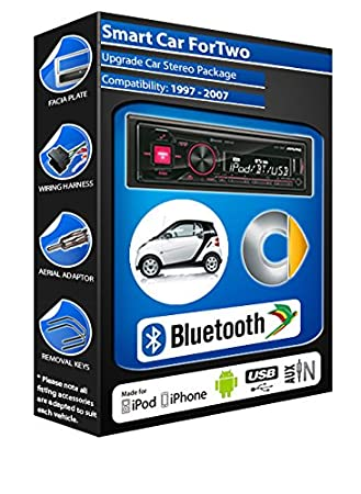Smart car Passion autoradio Alpine UTE 72BT mains-libres Bluetooth pour autoradio stéréo