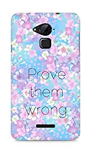 AMEZ prove them wrong Back Cover For Coolpad Note 3