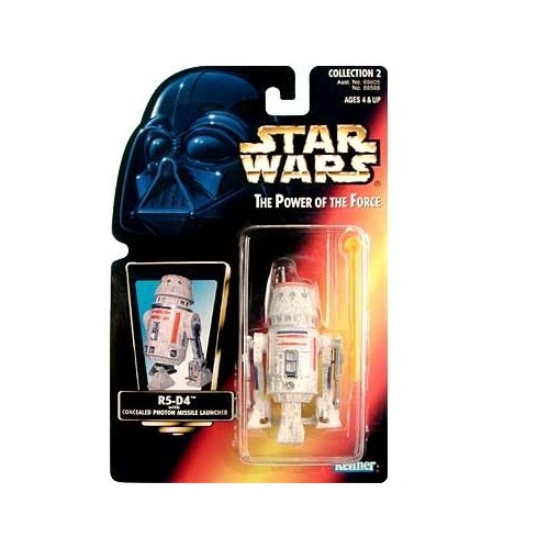 Star Wars: Power of the Force Red Card R5-D4 Action Figure