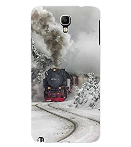 ColourCraft Train Engine Design Back Case Cover for SAMSUNG GALAXY NOTE 3 NEO N7505