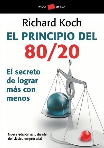 EL PRINCIPIO DEL 80/20 descarga pdf epub mobi fb2
