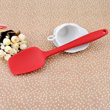 JJE28CM*6.3CM*1CM Large Size Cooking Baking Tools Colour Whole Silicone Butter Shovel