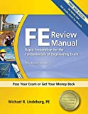 FE Review Manual: Rapid Preparation for the Fundamentals of Engineering Exam
