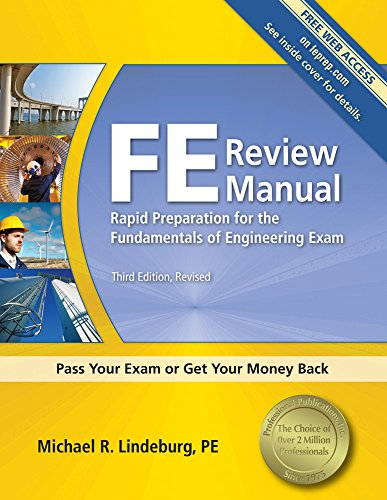 FE Review Manual: Rapid Preparation for the Fundamentals...