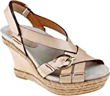 Earthies Women's Salerno Too Wedge Sandal,Biscuit,8 M US