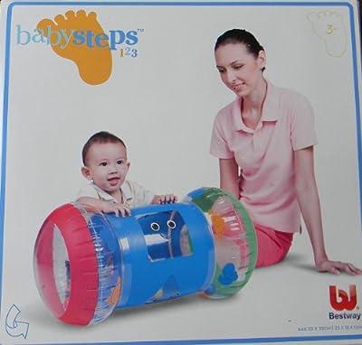 Bestway Aufblasbare Spielrolle Babysteps Mit Geräuschbällen Motorikrolle bei aufblasbar.de