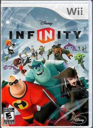 Disney Infinity Wii Replacement Game Only - No Base or Figures Included