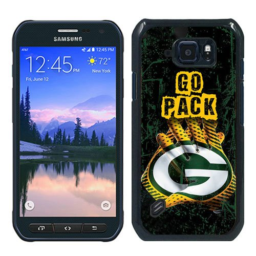 Generic Green Bay Packers Black Samsung Galaxy S6 Active Shell Phone Case,Luxury Cover