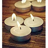Orlando's Decor Candles White T Light Candles Set Of 50 T-lights