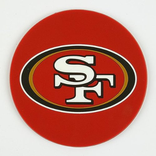 NFL San Francisco 49ers Coaster (Set Of 4) at Amazon.com