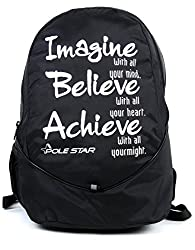 Polestar Polyester Buddy_IBA Black Casual Laptop/Travel Backpack
