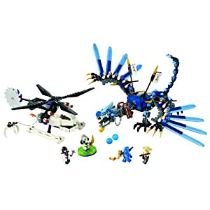 Amazon.com: LEGO Ninjago Limited Edition Set #2521 Lightning Dragon
