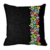 meSleep Abstract Digitally Printed Cushion Cover (16x16)