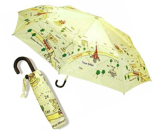Paris map 21010-00 umbrella folding (T&T Corporation) T&T CORPOR...