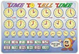 Painless Learning Time to Tell Time Placemat