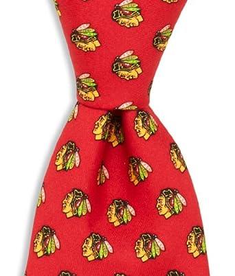 nhl chicago blackhawks neck tie 58