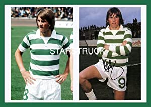 Celtic FC Legend King Kenny Dalglish Signed (Pre-Printed) Exclusive A4 Print by STARSTRUCK