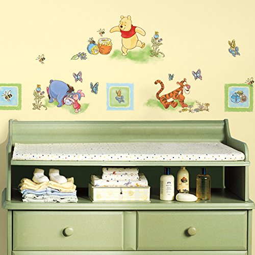 roommates disney winnie the pooh wall stickers by